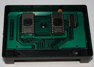 Open Ghost Attack cartridge exposing the electronics