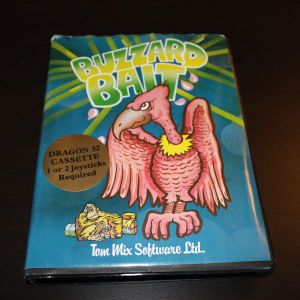 Buzzard Bait was sold in an oversized box.