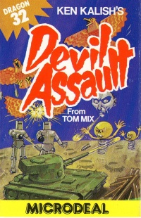Devil Assault cassette cover