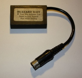 The Buzzard Bait copy protection dongle.