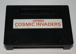Cosmic Invaders cartridge