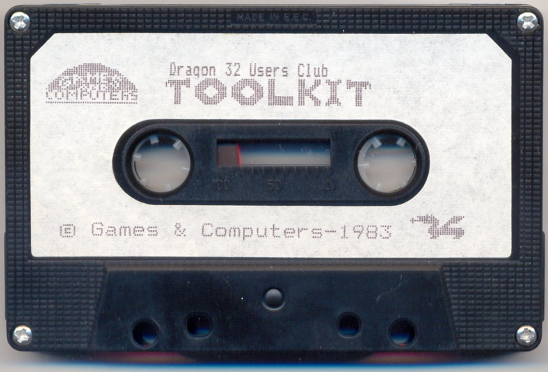 File:Dragon32UsersClubToolkit Tape.jpg